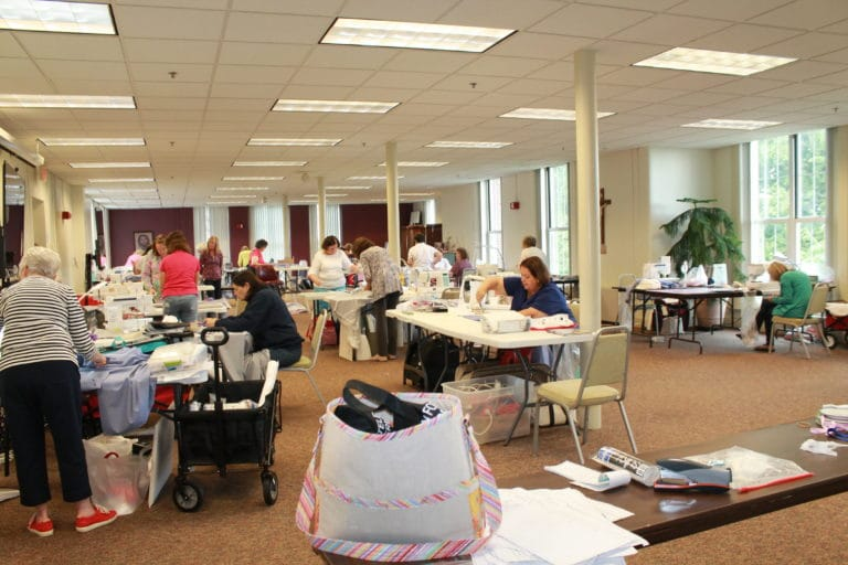 Here is a look at the group while they made camp in the Academy Room for a week!