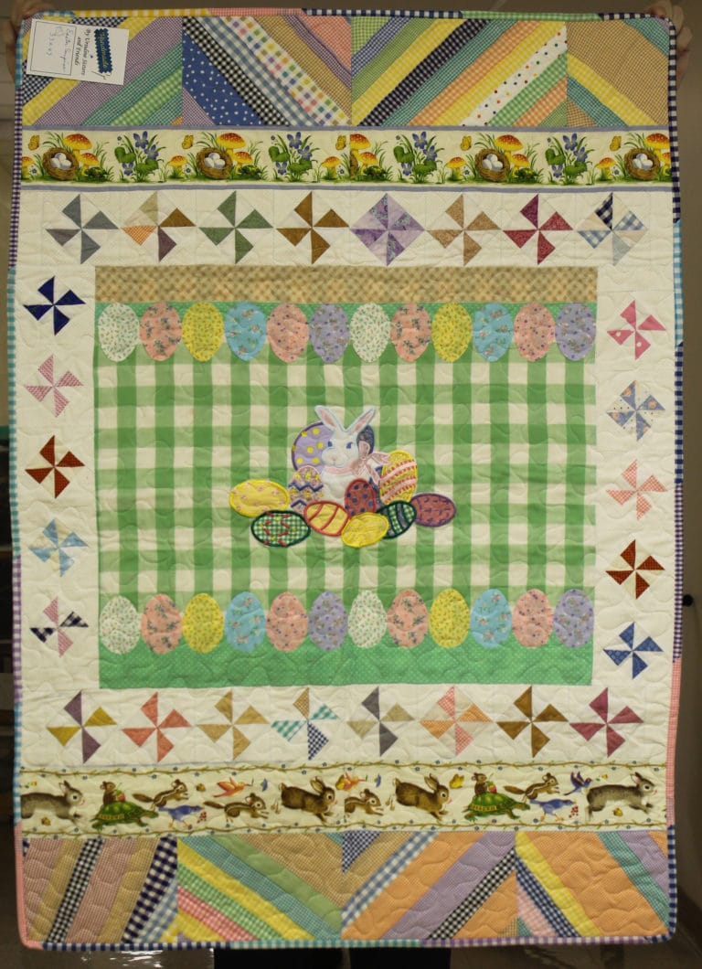 #18 Easter Surprise; Size: 33X47; Price: $95